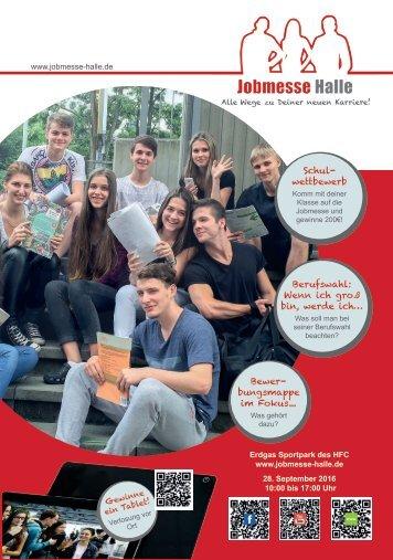 Jobmesse Halle - Messezeitschrift Herbst 2016