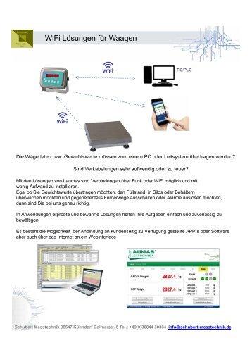 WiFi und Funklösungen für Waagen
