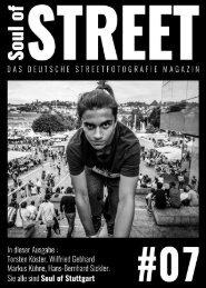 Soul of Street - Das deutsche Streetfotografie Magazin  #07