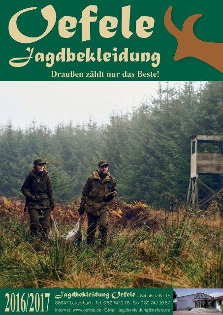 Jagdbekleidung Oefele - Katalog 2016/2017