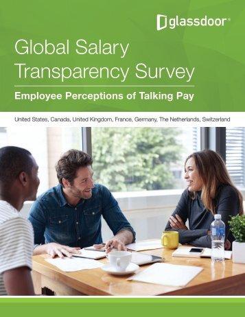 Global Salary Transparency Survey