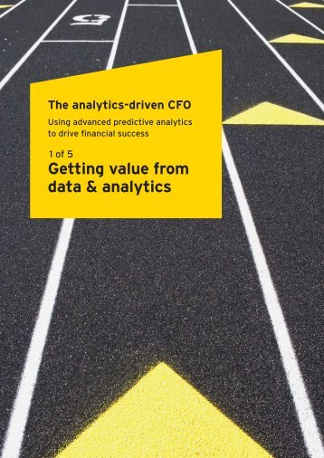 Getting value from data & analytics