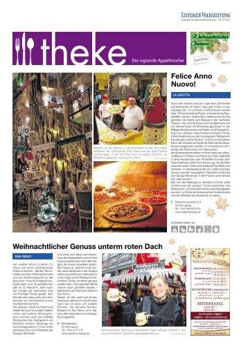 THEKE Dezember 2015 | Der regionale Appetitmacher