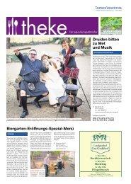 THEKE April 2016 | Der regionale Appetitmacher