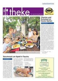 THEKE Juli 2016 | Der regionale Appetitmacher