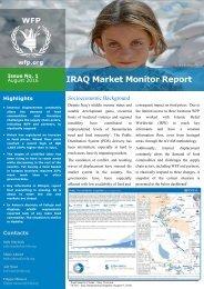 IRAQ Market Monitor Report