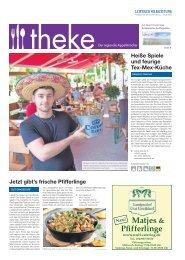 THEKE Juni 2016 | Der regionale Appetitmacher
