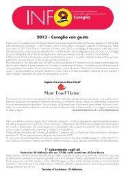 Cureglia 2013 - Cureglia con gusto - ProSpecieRara
