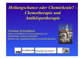 Heilungschance oder Chemiekeule? - Chemotherapie und ...
