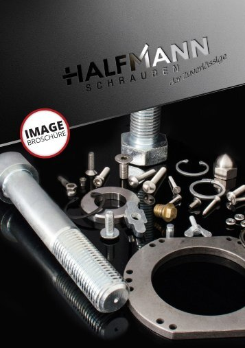 Halfmann Schrauben - Imagebroschüre