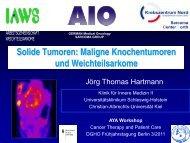 Solide Tumoren: Knochentumoren und ... - DGHO Onkopedia