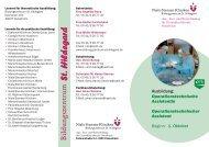 Bildungszentrum - Niels-Stensen-Kliniken