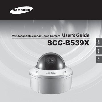 Samsung SCC-B5393P (SCC-B5393P ) - Manuel de l'utilisateur 10.87 MB, pdf, Anglais, POLONAIS, RUSSIE