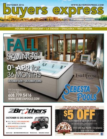 Buyers Express - La Crosse Edition - October 2016