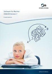 Software für Macher: OS ECM Version 7 - ECM Navigator