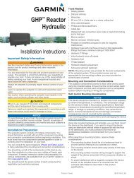 Autopilot System Installation Instructions - New Holland PLM