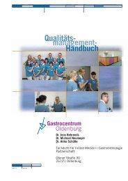 QM-Handbuches - Gastrocentrum Oldenburg