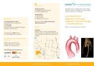 Diagnostik und Therapie angeborener Herzerkrankungen ...