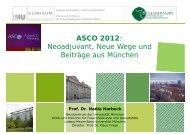 ASCO 2012: N dj t N W d Neoadjuvant, Neue Wege und ... - Seite