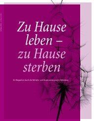 zu Hause sterben - Palliativ-Versorgung Oldenburg