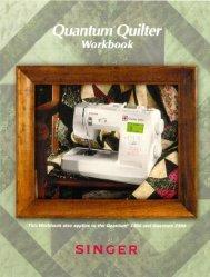 Singer Quantum® Quilter & Quantum® 7350 WKBK - English - User Manual
