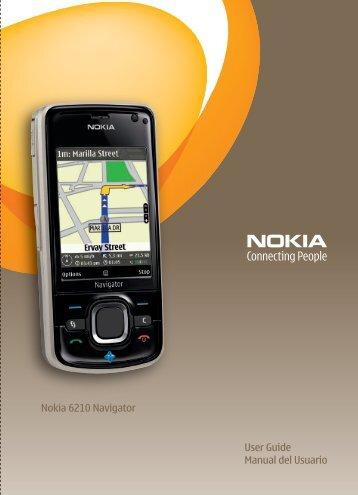Nokia 6210 Navigator - Nokia 6210 Navigator manual