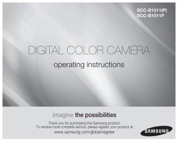 Samsung SCC-B1311P (SCC-B1311P ) - Manuel de l'utilisateur 5.2 MB, pdf, Anglais, POLONAIS, RUSSIE