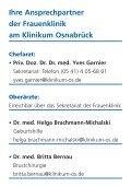 Ihre Ansprechpartner der Frauenklinik am Klinikum Osnabrück finden - Page 2