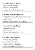 Ihre Ansprechpartner der Frauenklinik am Klinikum Osnabrück finden - Page 3