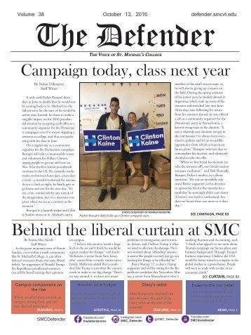Fall Issue #2: October 13 2016