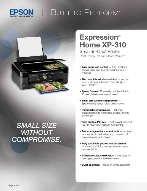 Epson Epson Expression Home XP-310 Small-in-One®