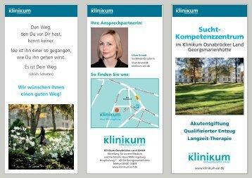 Sucht- Kompetenzzentrum - Klinikum Osnabrück
