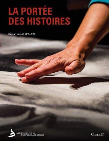 LA PORTÉE DES HISTOIRES