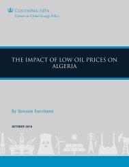 THE IMPACT OF LOW OIL PRICES ON ALGERIA