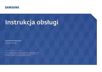 Samsung Moniteur 24'' - 1500 cd/m² - Full HD - OH24E (LH24OHEPKBB/EN ) - Manuel de l'utilisateur 3.01 MB, pdf, Anglais