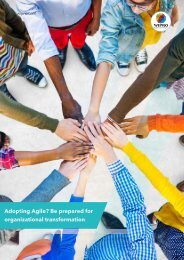 Adopting Agile? Be prepared for organizational transformation