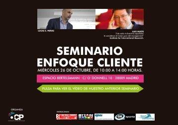 SEMINARIO ENFOQUE CLIENTE