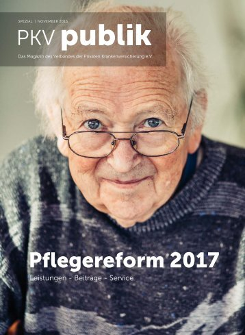 Pflegereform 2017