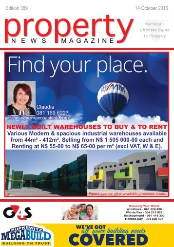 Property News Magazine - Edition 369 - 14 October 2016
