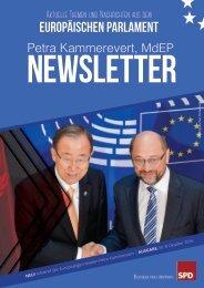 Infobrief der Europaabgeordneten Petra Kammerevert - Ausgabe: Oktober 2016 Nr.8