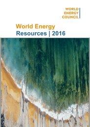 World Energy Resources   2016
