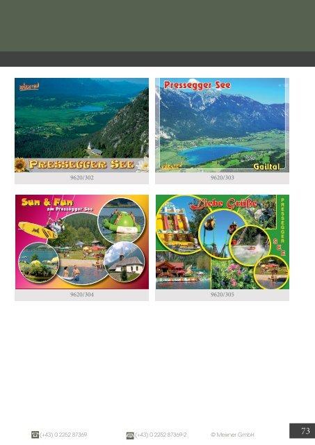 Meixner Ansichtskarten-Katalog  Kärnten - SOMMER