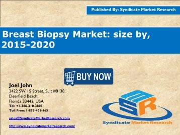 Breast Biopsy Market