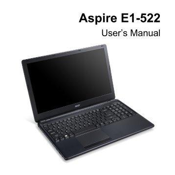 aspire one 522 serviceguide acer support rh yumpu com Acer Aspire Computer Acer Aspire All in One