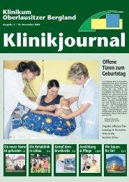 Pflege im Klinikum Oberlausitzer Bergland