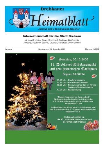 am Dienstag, den 22.12.2009 - Stadt Drebkau