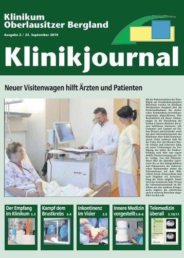 Die Klinik für Innere Medizin Zittau - Klinikum Oberlausitzer Bergland