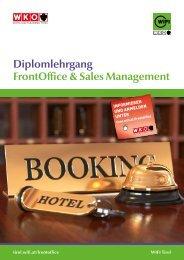 Diplomlehrgang Front Office & Sales Management