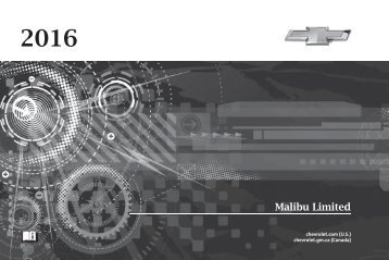 Chevrolet 2016 Malibu Limited - View Owner's Manual