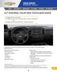 Chevrolet 2014 Silverado 1500 - 2014 Silverado MyLink Details Book - Page 4